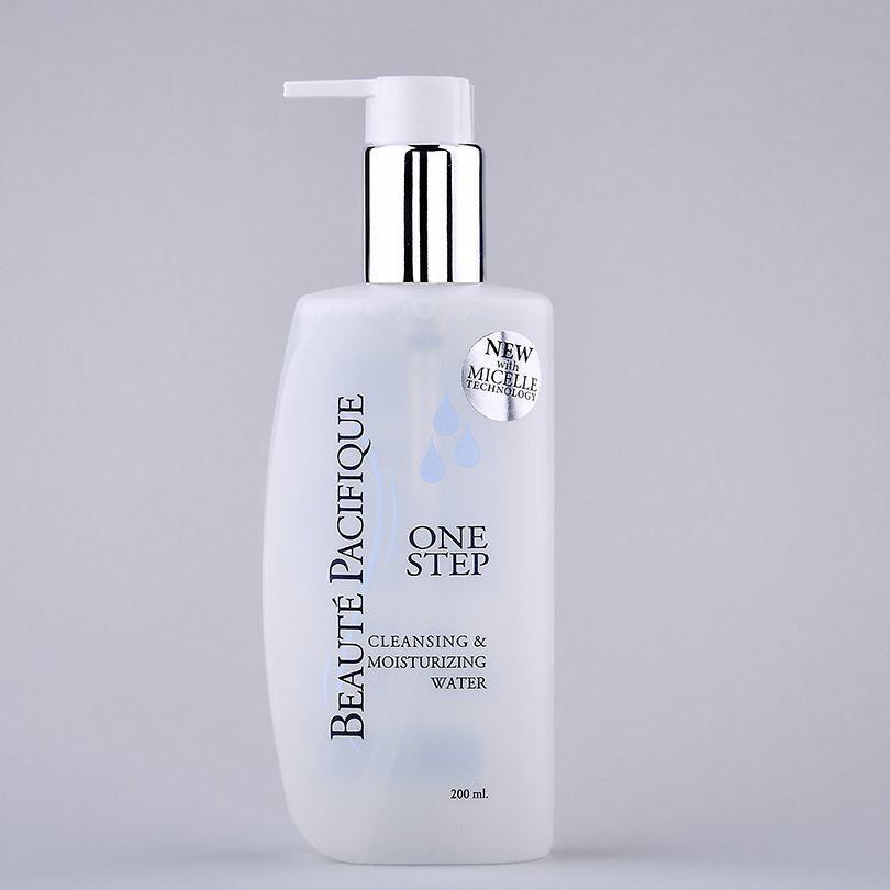 One Step Cleansing & Moisturizing Water