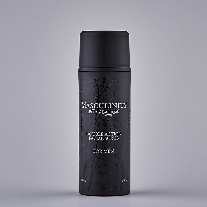 Masculinity Double Action Facial Scrub
